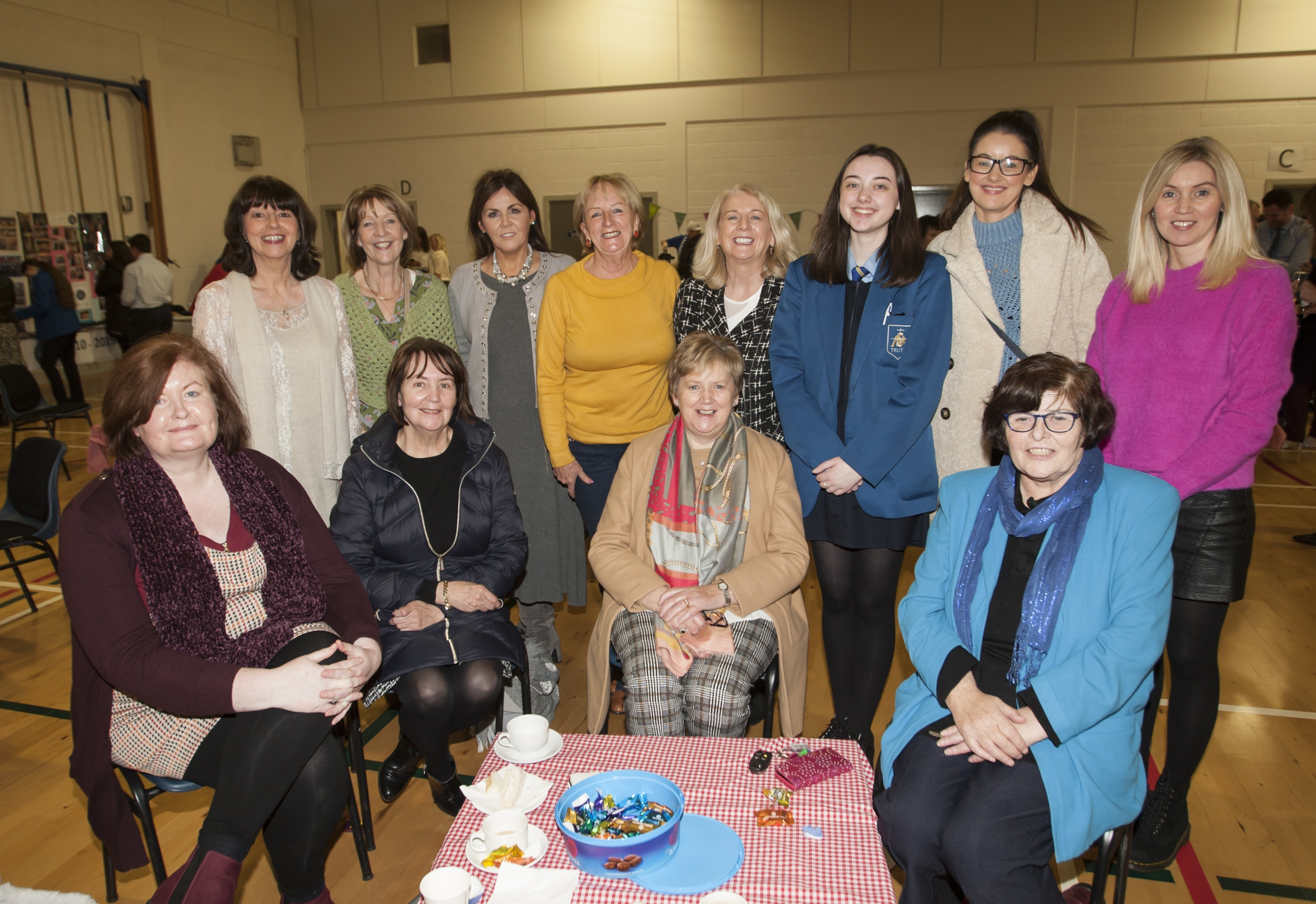 Group pictured at the St. Mary's College 60th Anniversary Exhibition at the school on Friday.