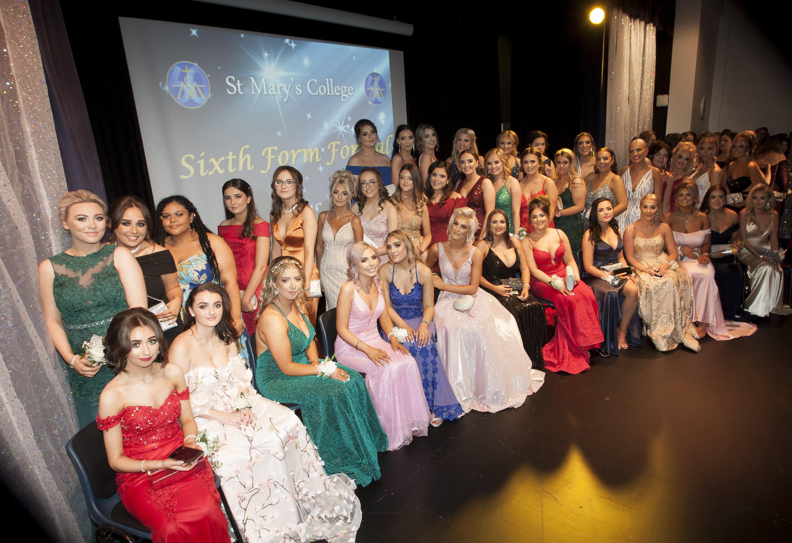 CLASS OF '19. . . .Some of the Class of 2019 pictured at the St. Mary's College Annual Formal on Thursday night last. (Photos: Jim McCafferty Photography)