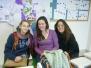 Italian student visitors